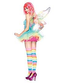 Sexy Regenbogen Prinzessin Kostüm