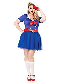 Sexy Retro Sailor Plus Size Costume
