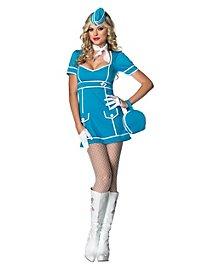 Sexy Retro Stewardess Kostüm
