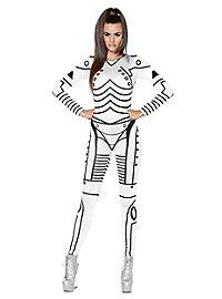 Sexy robot girl costume