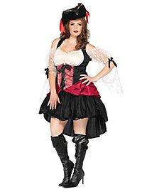 Sexy Säbelrasslerin Piratenkostüm