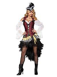 Sexy Schatzsucherin Piratenkostüm
