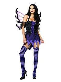Sexy Schmetterling schwarz Kostüm