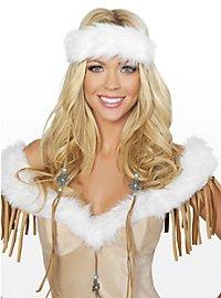 Sexy Schneeindianer Kostüm