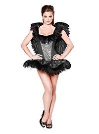 Sexy Schwarzer Schwan Kostüm