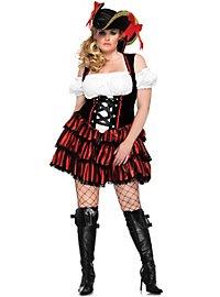 Sexy Seeräubertochter Piratenkostüm