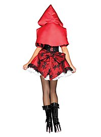 Sexy Sequined Red Riding Hood Deluxe Costume