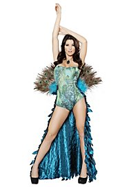 Sexy Showy Peacock Costume