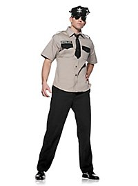 Sexy Sicherheitsbeamter Kostüm