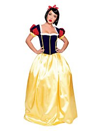 Sexy Snow White Dress long Costume