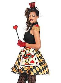 Sexy Spielkarten Lady Kostüm