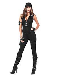 Sexy SWAT Offizierin Kostüm