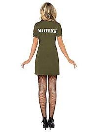 Sexy Top Gun Pilot Costume for Ladies
