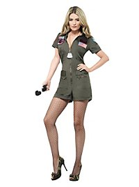 Sexy Top Gun Uniform Costume
