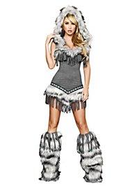 Sexy Trapper-Lady Kostüm