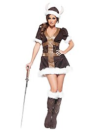 Sexy Viking princess costume