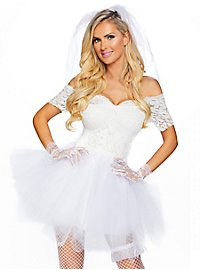 Sexy Wedding Dress Costume