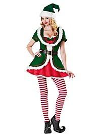 Sexy Weihnachtselfe Kostüm