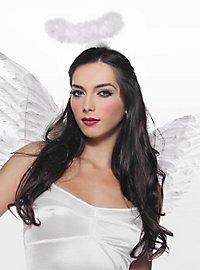 Sexy Weißer Engel Accessoire Set