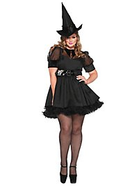 Sexy Witch black Plus Size Costume