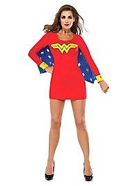 Sexy Wonder Woman mit Flügeln Kostüm