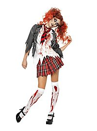 Sexy Zombie School Girl Costume