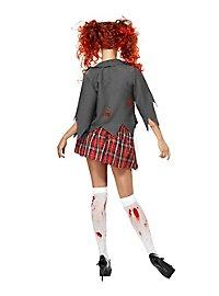 Sexy Zombie School Girl Costume