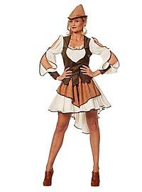 Sherwood Forest Heldin Kostüm