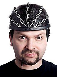 Shiny Chains Crazy Helmet