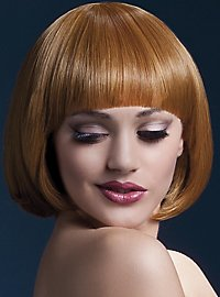 Short Bob wig copper