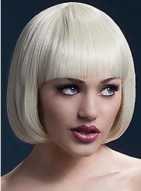Short Bob wig light blond