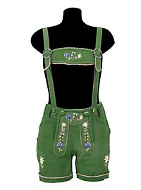 Short Lederhosen Ladies green