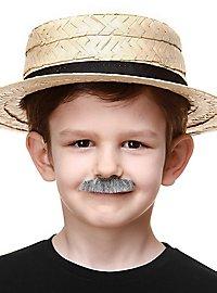 Short mustache for children