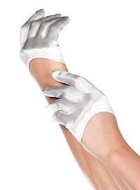 Short Satin Gloves
