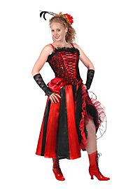 Showgirl Skirt red-black