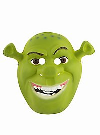 Shrek Kindermaske aus Kunststoff