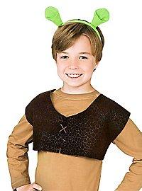 Shrek vest and ears for children