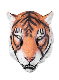 Sibirischer Tiger Maske aus Latex