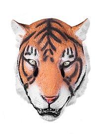 Sibirischer Tiger Maske aus Latex