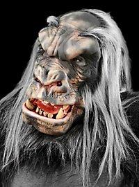 Silberrücken-Gorilla Maske aus Latex