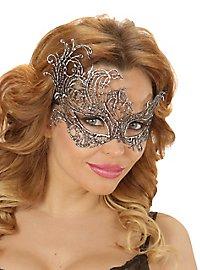 Silver lace mask antique
