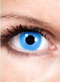 Lentilles de contact Sirène bleues