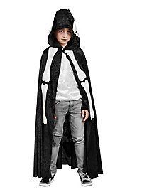 Skeleton cape for children