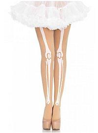 Skeleton Pantyhose skincoloured