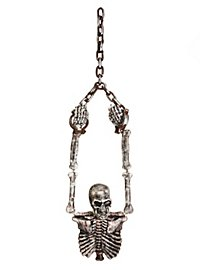 Skeleton Torso in Chains Hanging Decoration