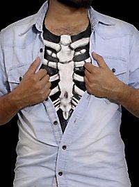 Skelett Brustkorb aus Latex