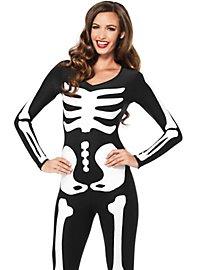 Skelett-Catsuit
