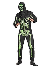 Skelett Overall Kostüm