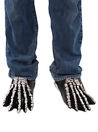 Skelettfüße Schuhstulpen