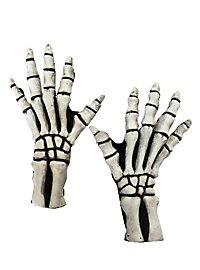 Skeletthände weiß